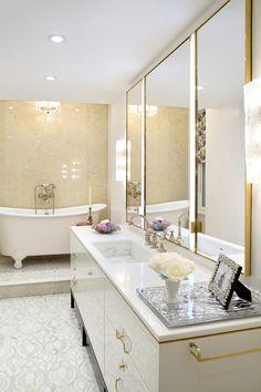Royal Throne, Washington Square Park, Double Vanity, Bathroom, Bliss, Home, Design, Washroom, Full Bath
