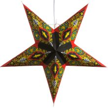 Hometown Evolution Inc Star Wide Single Light Plug-In Paper Lantern Red Mango Party Lights Paper Lights Paper Star Lights, Paper Star Lanterns, Paper Stars, Paper Light, Paper Snowflakes, C9 Christmas Lights, Potted Christmas Trees, Christmas Ideas, Origami Ball
