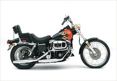 The FXWG Wide Glide is introduced for the 1980 model year. | Harley-Davidson 1980
