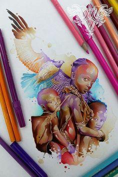 Drawings & Works by Vareta