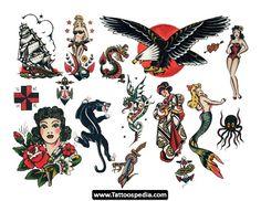 tattoos vintage - Pesquisa do Google