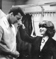 JFK jr with Muhammad Ali