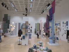 Hillarys visit the Nottingham Trent University (NTU) Textile Design degree show 2013  Bonnington Gallery