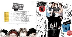 5sos 5 seconds of summer she looks so perfect us tour editon ep booklet scans scan