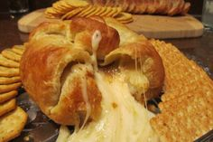 Baked Brie in Puff Pastry With Apricot or Raspberry Preserves. Photo by Rita~ Use a sheet of puff pastry and bake in airfryer at 200 deg for around 15 minutes or until pastry is puffed and golden.