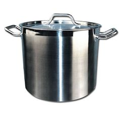 Winware Stainless Steel 12 Quart Stock Pot with Cover ** Details can be found by clicking on the image.