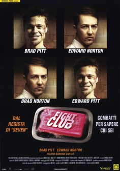 Fight Club (1999) Theatrical Poster by Ross Hoddinott