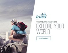 A set of Travel – Vacation Web Ad Marketing Banners is comes with 20 standard dimensions which also meet Google adwords banners sizes. It included all the layered psd file where you can easily change its text, color & shapes as per your requirements.FEA…