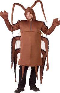 Cucaracha adultos trajes - gracioso