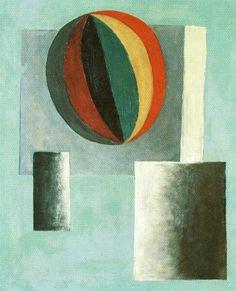 Šíma - Balon 1926 Modern Art Styles, French Collection, Henri Rousseau, Paul Gauguin, Art Database, Modern Artists, Art Club, Hot Air Balloon, Art Lessons