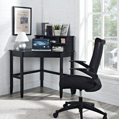20 best black corner desk with hutch images on pinterest corner rh pinterest com IKEA Corner Desk Black small black corner desk with storage