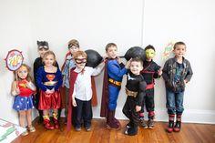 A SuperHero Party   MOLLY DUES photography