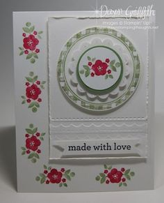 Made with Love ... (Dawns stamping thoughts Stampin'Up! Demonstrator Stamping Videos Stamp Workshop Classes Scissor Charms Paper Crafts)