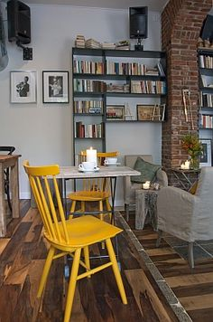 cafe - Můj šálek kávy,Prague Prague, Spaces, Table, Shop, Furniture, Home Decor, Tables, Home Furnishings, Interior Design