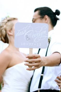 Wedding Couple Sign  Photo Shoots  Fancy Script by liddabits, $8.99