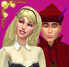 Mod The Sims - Sleeping Beauty - Aurora & Phillip: Disney Fairytale Collection Pt. 8