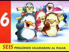 Pingüinos...(canción para conteo hasta 10)