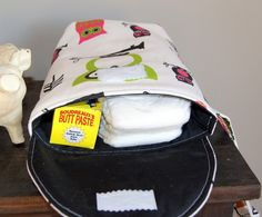 best thing ever for your purse. Diapers/wipes without an entire diaper bag.