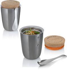 thermo pot w/ spoon