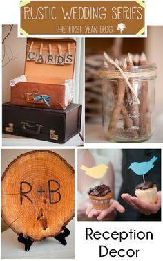 Rustic Wedding Decor #Wedding   best stuff