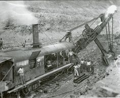 Mining Equipment, Heavy Equipment, Old Train Pictures, Earth Moving Equipment, Caterpillar Equipment, Bucyrus Erie, Holiday Train, Model Supplies, Ho Trains