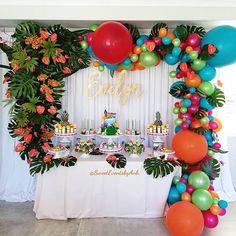 Moana Birthday Party Ideas Popsugar Family intended for Muana Birthday Party - Party Supplies Ideas Moana Birthday Party Supplies, Moana Birthday Party Theme, Birthday Party Images, Moana Themed Party, Cool Birthday Cakes, Luau Party, Birthday Party Decorations, Birthday Parties, Birthday Ideas