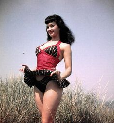 Peek A Boo! It's Bettie Page!!!