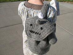 Chibi Al Reusable Lunch Bag ***pattern now included!!*** (pic heavy) - CROCHET