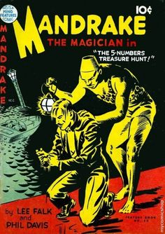 Mandrake The Magician: Comics First Superhero?