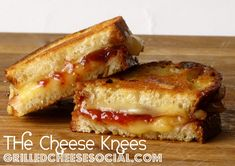 The Cheese Knees – Oscypek Grilled Cheese with Strawberry Jelly   Grilled Cheese Social