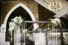 unique wedding arbor photo by: www.keepsakemp.com