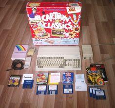 Amiga 500 Cartoon Classics Bundle