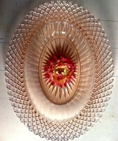 The Anchor Hocking pattern, Miss America, is pink depression glassware from the late 1930s. - Southern Vintage Table