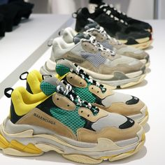 "Youpi you can now pre-order your ""Triple S"" @balenciaga exclusive worldwide at #colette ONLY in store #balenciagacolette #balenciaga"