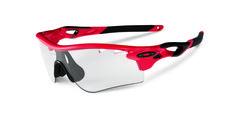 705ecef8c6 Oakley Sports Performance Sunglasses - Radarlock Path - Infrared Frame -  Clear Black Iridium Photocromic Vented Lens - OO9181-09