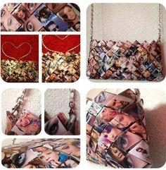Handmade paper bag : Sacs à main par carmenitttta