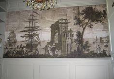 Custom 'Historic' Scenic Mural   Check this job out on my website: www.APaperhangersBlog.com