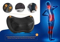 Zuzuro Shiatsu Pillow Massager with Heat – Electric Pillow Back & Neck Massage. Zuzuro Shiatsu Pillow Massager with Heat – Electric Pillow Back & Neck Massager for Stress Relief & Ultimate Relaxation; Cluster Headaches, Shoulder Massage, Great Gifts For Men, Neck Massage, Pillow Reviews, Neck Pain, Stress Relief, Electric