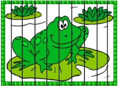 1 Frog Crafts Preschool, Frog Theme Classroom, Puzzles, Pond Life, Toddler Learning Activities, Frog And Toad, Bible Lessons, Pet Store, Kids Education