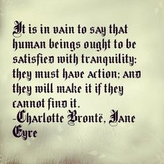 Quote from Jane Eyre by Charlotte Brontë