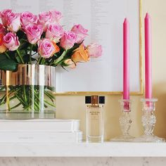 """Albert Hadley once said, """"Decorating is not making stage sets, it's not about making pretty pictures for the magazines; it's really about creating a quality of life, a beauty that nourishes the soul."""" Fresh flowers, candlelight, bits of gold and a lovely lingering scent are daily inspirations -- what's your #modernmuse?"""