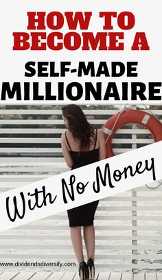 Looking for ways to build your finances, start making money and achieve financial independence? We live in the best possible times to become a self-made millionaire with no money. Here's how exactly to go about it. finance How To Become A Millionaire Self Made Millionaire, Become A Millionaire, Money Tips, Money Saving Tips, Managing Money, Money Hacks, Budget Planer, Make Easy Money, How To Become Rich