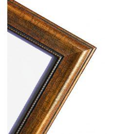 Dřevěný rám Reťaz měděný 50x60