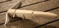 Mini Crossbow:  Wood & PVC