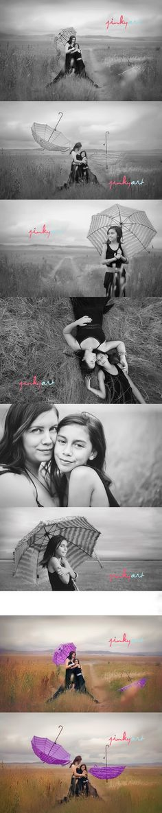 Photo shoot idea : mother + daughter