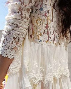 Women Flare Sleeve Basic Ruffles Shirt Casual New Patchwork Hollow Out Lace Flower Gauze Mesh Voile Pullover Pleated Blouse Tops Delicacies Loved By All Blouses & Shirts