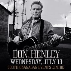 CONCERT ANNOUNCEMENT: #DonHenley takes the stage at the #SOEC on Wednesday July 13 for the only #BC date of his tour! Tickets go on sale THIS FRIDAY at 10AM!  Tix will be available at the #ValleyFirst Box Office (at the SOEC) Wine Country Visitor Centre via phone at 1.877.SOEC.TIX or online at ValleyFirstTix.com!  #instaconcert #instamusic #donhenley #theeagles #penticton #pentictonbc #okanagan #okanaganvalley #britishcolumbia by southokanaganeventscentre