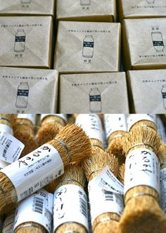 Japanese packaging from MERCI in Paris