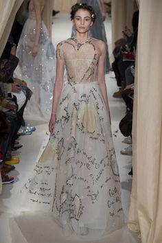 Valentino haute couture printemps-été 2015 #mode #fashion