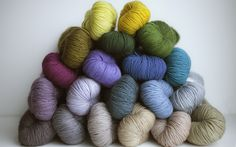 Yarn by The Plucky Knitter by Leslie Noe